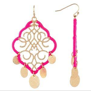 Melrose & Market Wrapped Filigree Coin Earrings